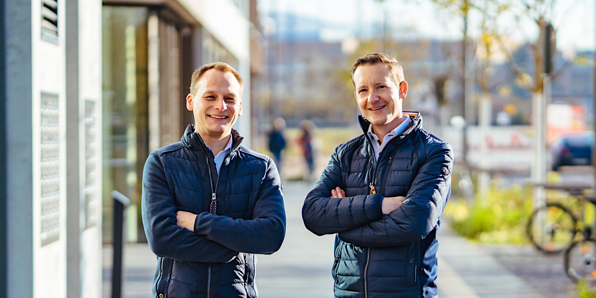Dirk Rieger (links) und Heiko Joos (rechts)